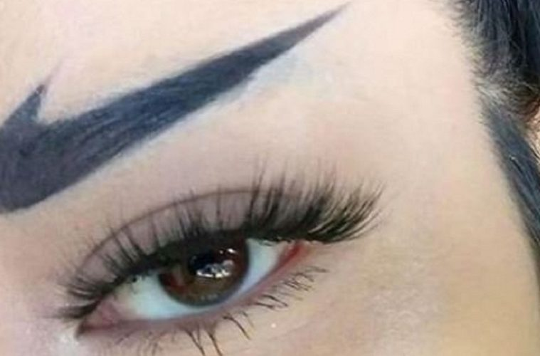 New Nike Eyebrow Trend Has The Internet Asking Some Serious Questions