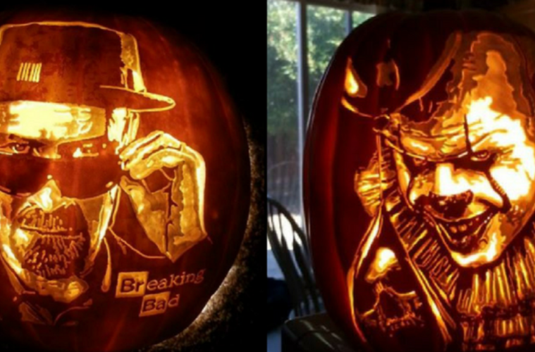 artist uses his skills to carve the most amazing pumpkins you ve